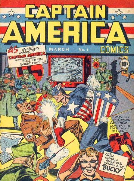 captain america premiere couverture