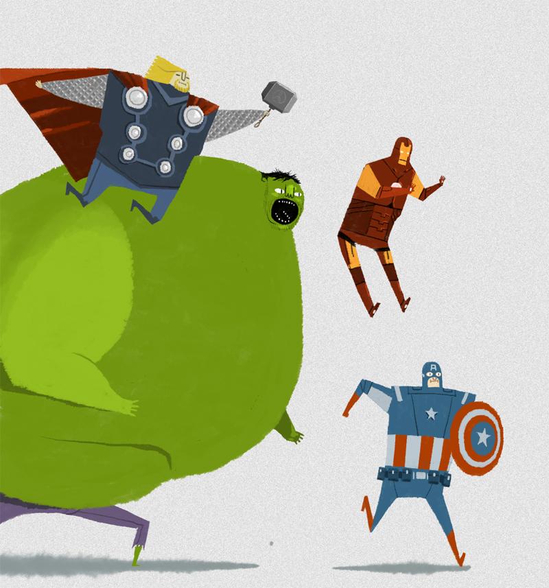 avengers-andy-helms-geek-art-fan-art