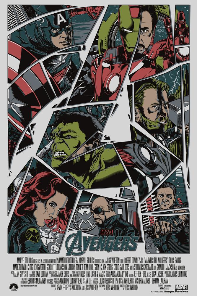 avengers mondo poster
