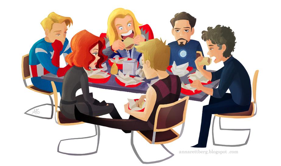 avengers restaurant