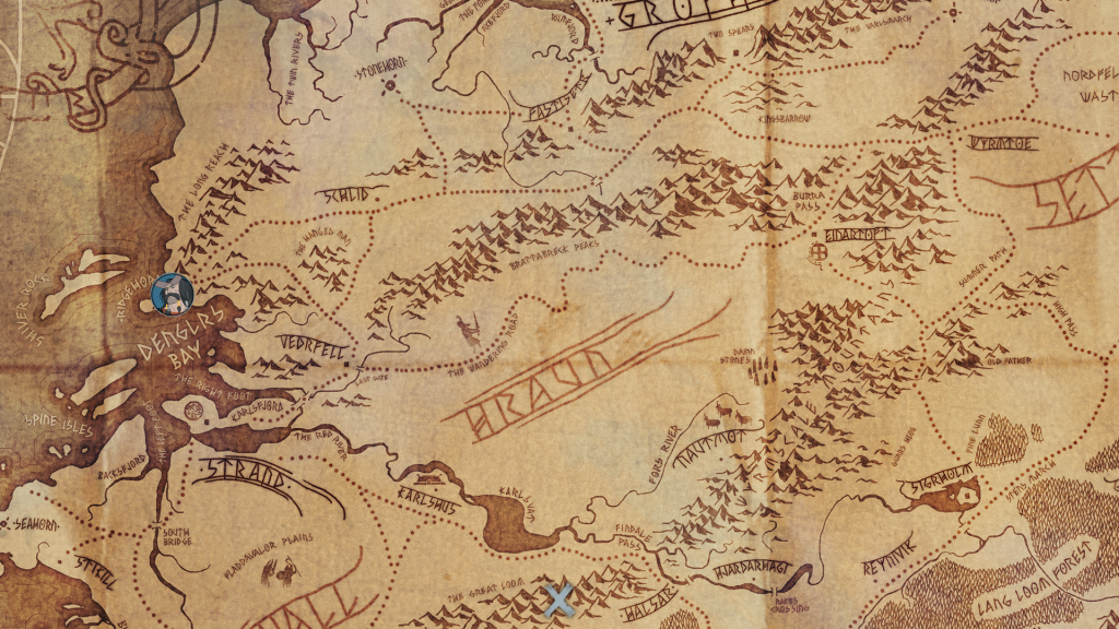 banner saga carte
