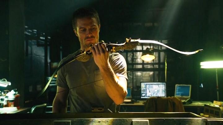 Oliver avec son arc