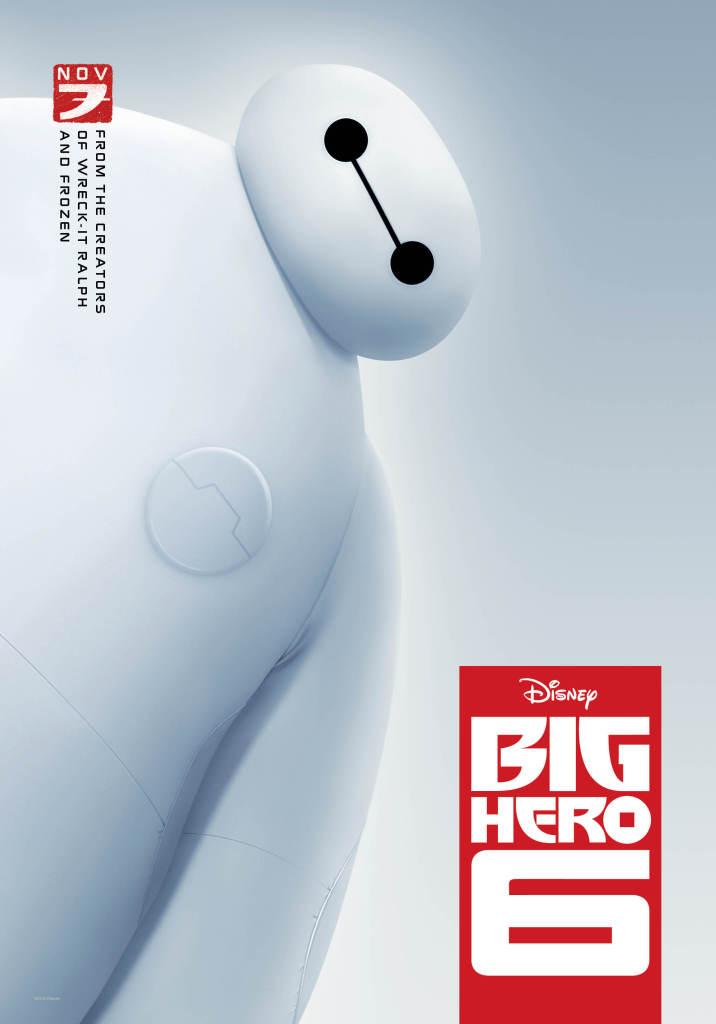 nouveaux héros poster baymax