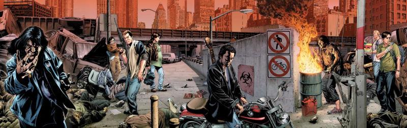 Image de la bande dessinée adaptée du fléau