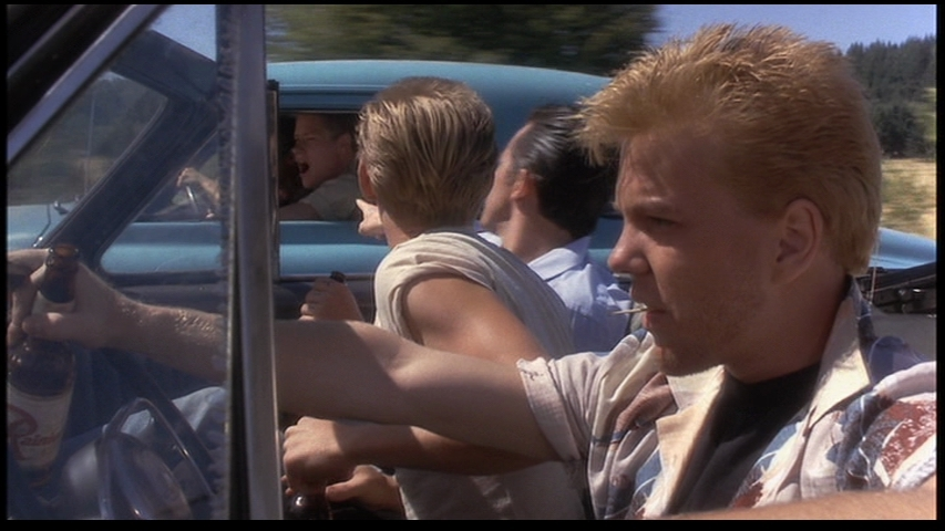 Kiefer Sutherland dans Stand by me
