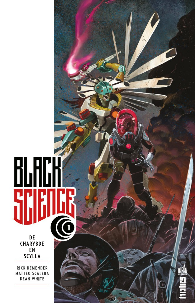 Black Science tome 1 cover