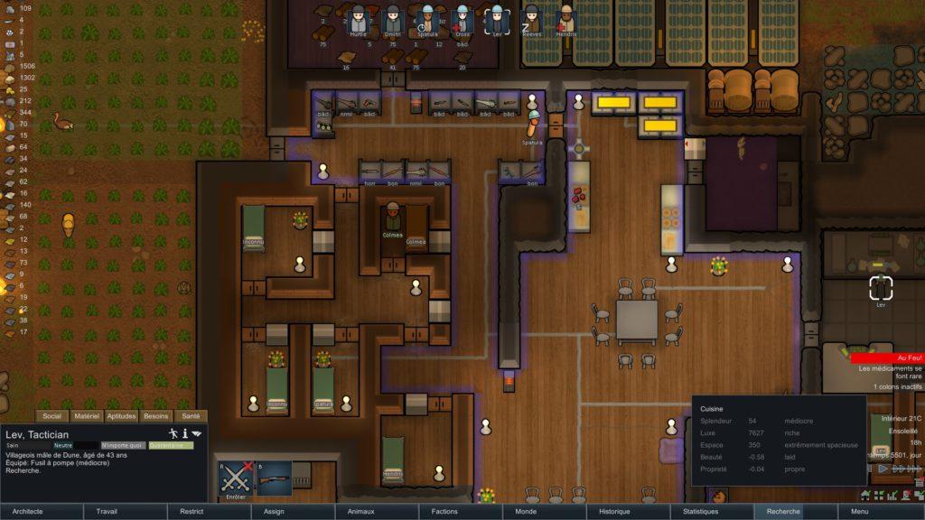 rimworld le jeu de survie strat gique de science fiction ultime. Black Bedroom Furniture Sets. Home Design Ideas