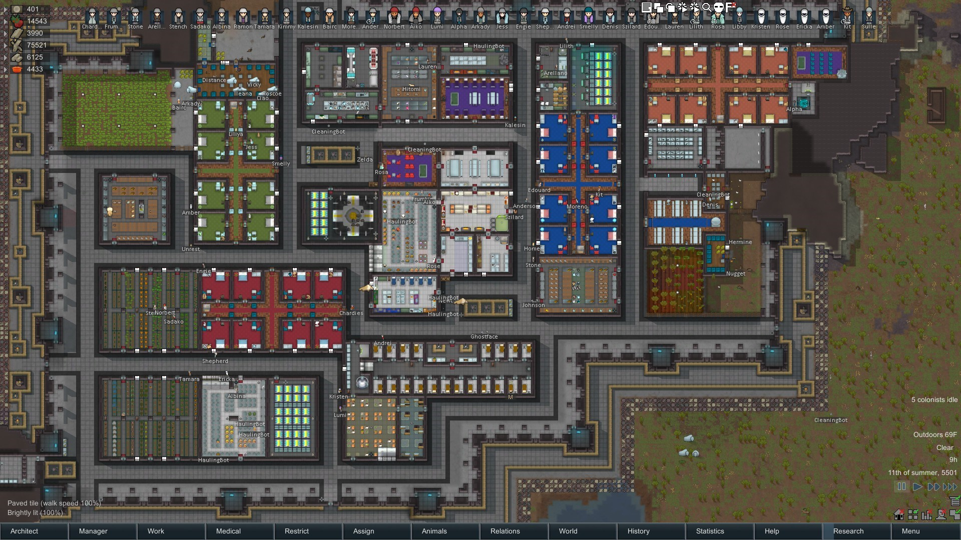 Home Design Layout Plan Rimworld Le Jeu De Survie Strat 233 Gique De Science Fiction