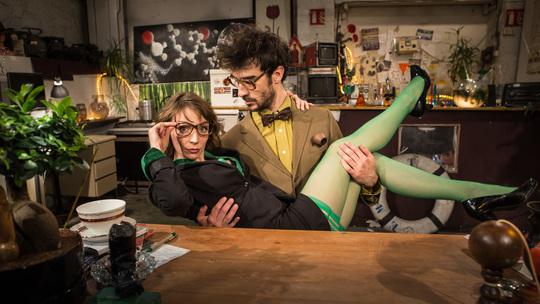 Le Prof et Sophie : Un duo déjanté !