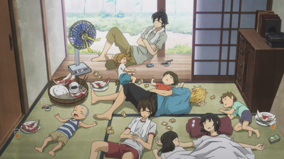 barakamon-episode-05-handa-sensei-and-crew-spent-after-a-day-at-the-beach-578x325