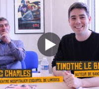 [VIDEO-REPORTAGE] Rencontre avec l'auteur Timothé le Boucher