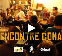 [VIDEO-REPORTAGE] Rencontre avec les auteurs, dessinateurs et créateurs de la série Glénat : Conan !
