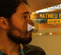 [VIDEO-REPORTAGE] Interview dessinée avec Mathieu Bablet aux Utopiales de Nantes 2019