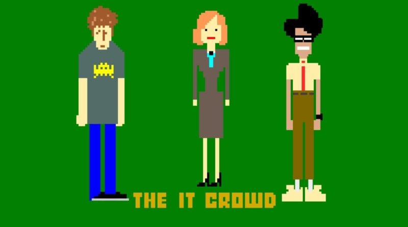 The IT Crowd : Have you tried watching it on and on again ?